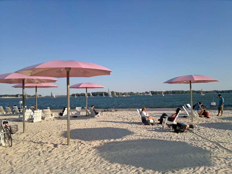 Sugar Beach Toronto's Waterfront